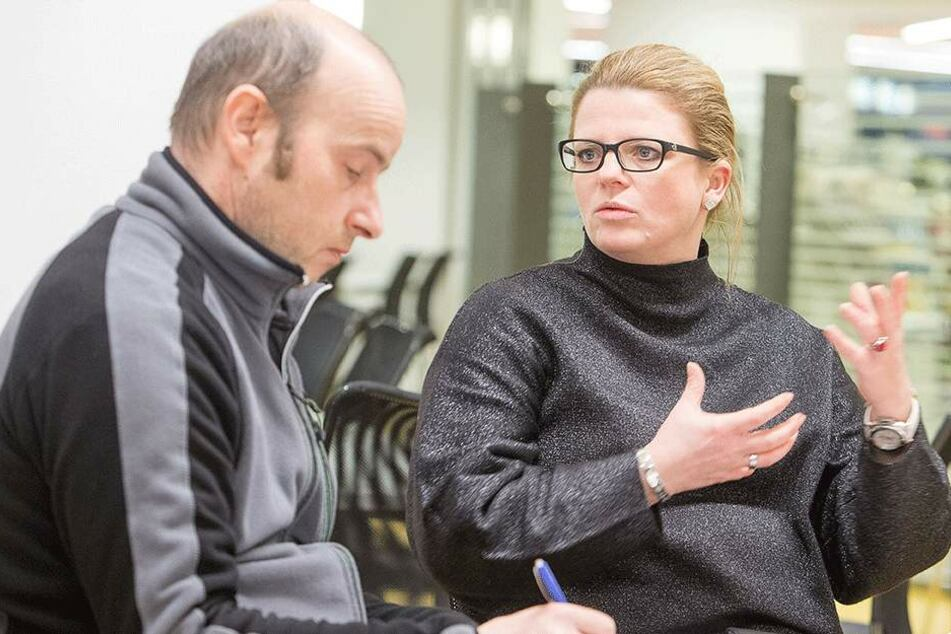 Bei Susanne Schaper ergatterte TAG24-Redakteur Torsten Schilling einen Termin.