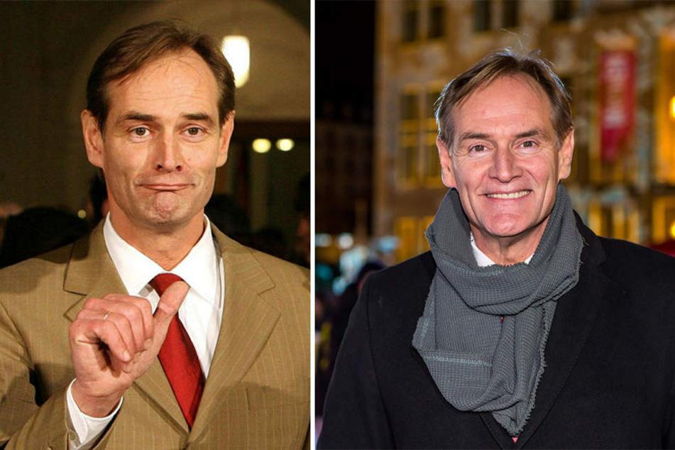 Zwischen diesen Bildern liegen elf Jahre. Burkhard Jung links 2006 bei seiner Wahl zum Leipziger OB und rechts bei einem Termin im vergangenen Jahr. Am Mittwoch wird der SPD-Politiker 60 Jahre alt.