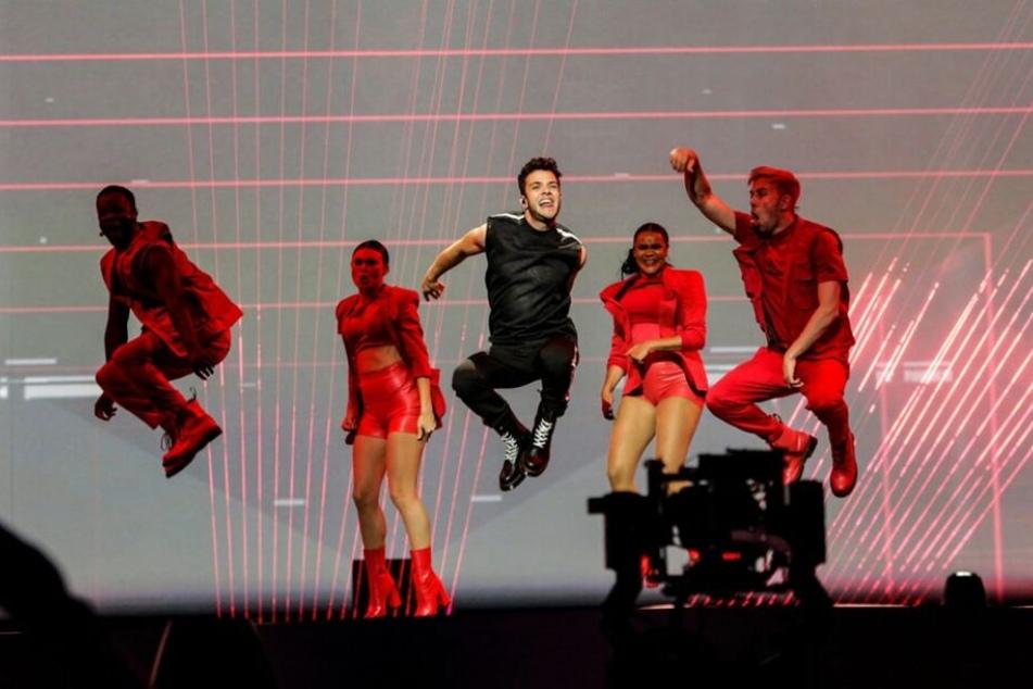 """Ex-DSDS-Gewinner Luca Hänni (24) wird den Song """"She Got Me"""" mit jeder Menge Tanzelementen auf die Bühne bringen."""