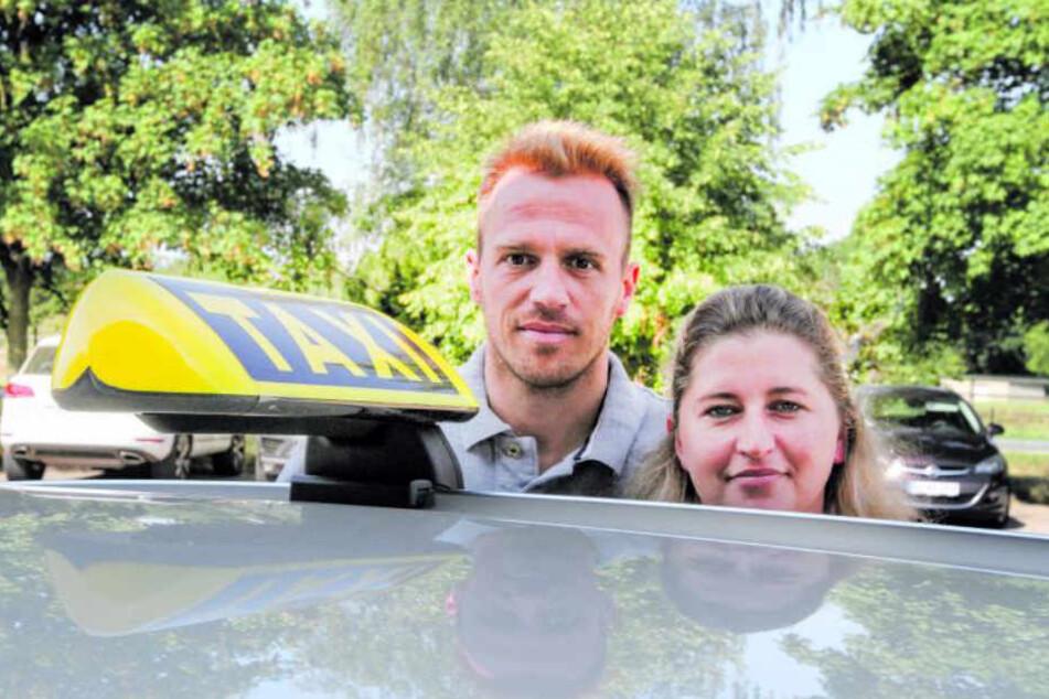 Nachtfahrten sind nicht wirtschaftlich, wissen Janine Borm und Ehemann Christian Ochs.