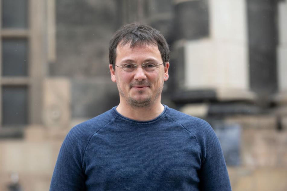 Klimaexperte Dr. Johannes Franke vom Landesumweltamt.