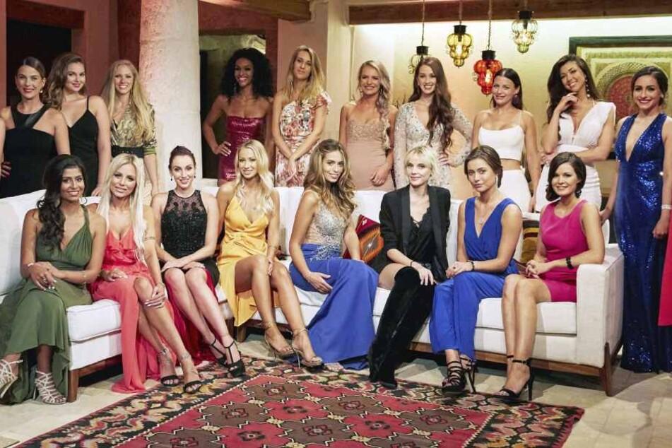Die Mädels in der ersten Nacht der Rosen.