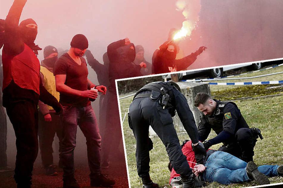 Raub, Randale, Demos: So proben unsere Polizisten den Ernstfall