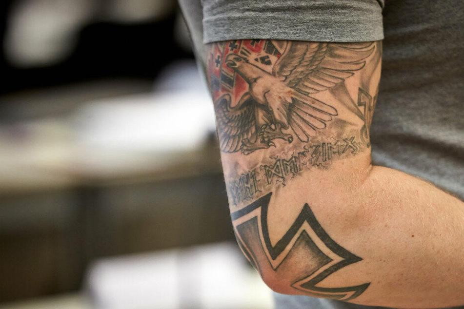 Die Zahl rechtsextremer Verbrechen in NRW stieg zuletzt an.