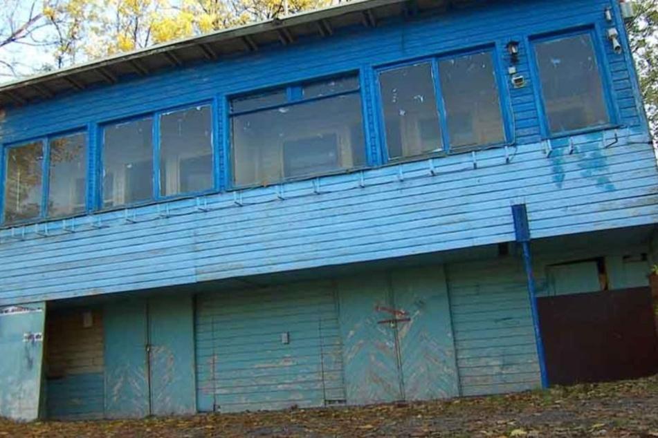 Das Blaue Haus wurde durch den Brand komplett zerstört.