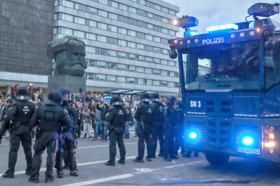 Schwere Panne bei Polizeieinsatz in Chemnitz
