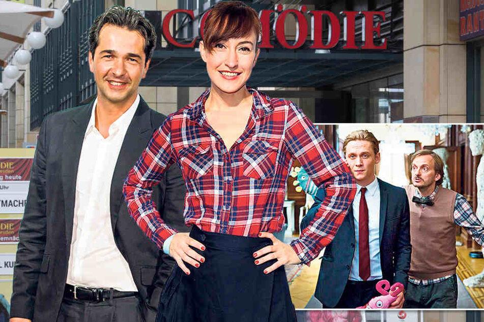 GZSZ-Star Andreas Elsholz (44) spielte von1992-'96 in der Soap die Rolle des Heiko Richter mit Maike von Bremen (35).