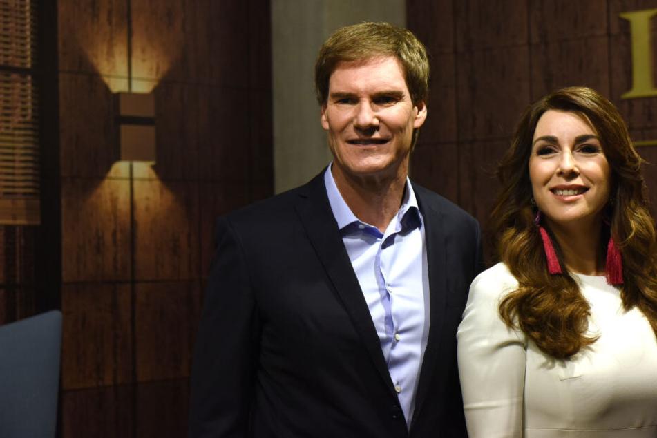 """Zwei der Investoren der Vox-TV-Show """"Die Höhle der Löwen"""", Carsten Maschmeyer und Judith Williams, bei einem Pressetermin."""