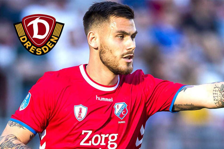 Zweiter Neuzugang! Dynamo leiht Abwehr-Hüne Dario Dumic aus