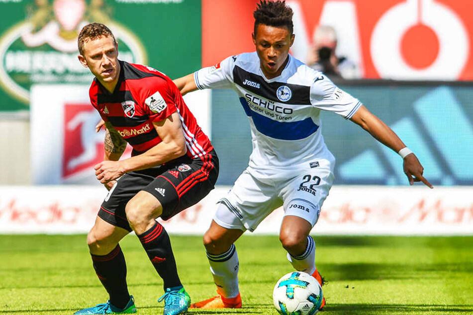 Neuzugang aus Bielefeld? Roberto Massimo (r.) steht im Fokus des VfB Stuttgart.