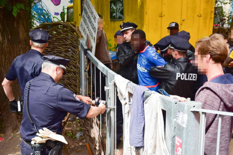 Am Ende konnte der 28-Jährige doch festgenommen werden.