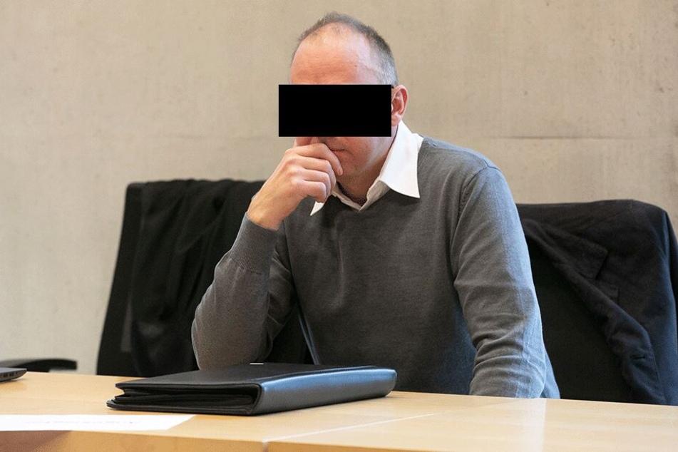 Handwerker Ralf B. (43) fuhr den Radler mit rund 1,9 Promille tot.