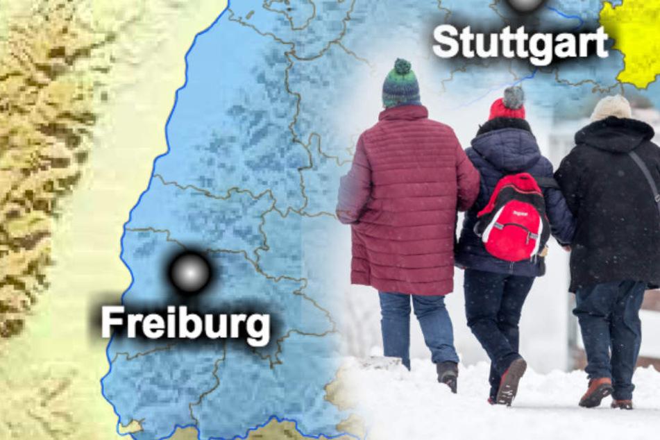 Werden wir bald den ersten Schnee sehen? Hoffentlich nicht vom Fenster aus, während wir mit Grippe im Bett liegen!