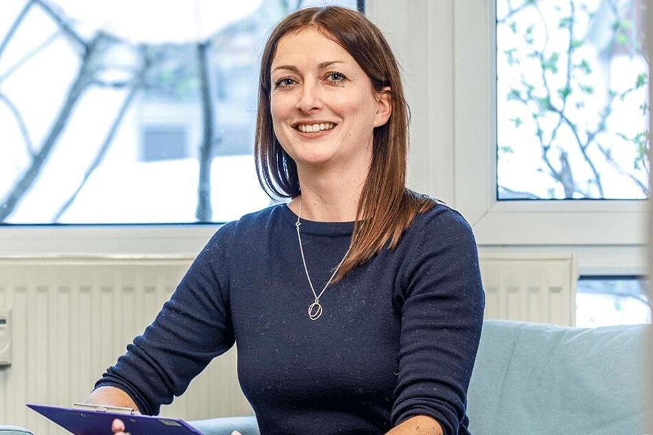 """Eva Wingerter (36) ist Programmleiterin in der Beratungsstelle """"Kita-Rat"""" an der Bautzner Straße 22."""
