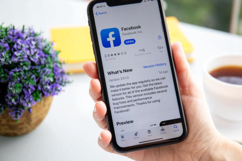 Das Update der Facebook-App kann weiterhin geladen werden.