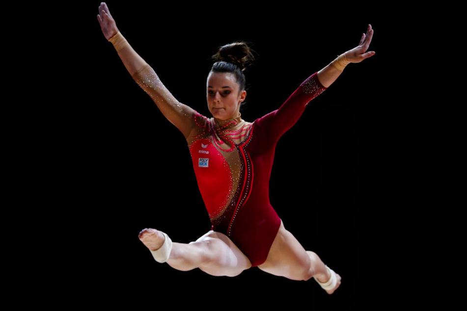 Schwebebalken-Spezialistin Pauline Schäfer kann verletzungsbedingt nicht an der WM in Doha teilnehmen.