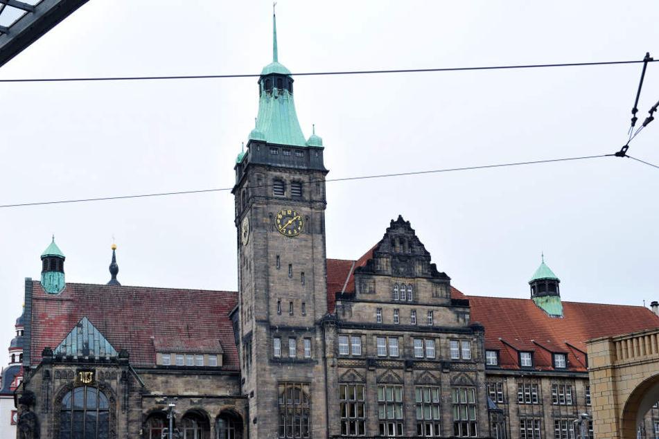 Einer der Tatorte lag in direkter Nähe zum Chemnitzer Rathaus.
