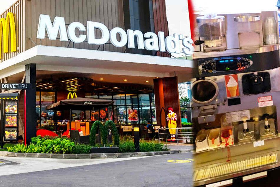 Oft kaputt: Kriegt McDonald's das Problem mit den Eis-Maschinen in den Griff?