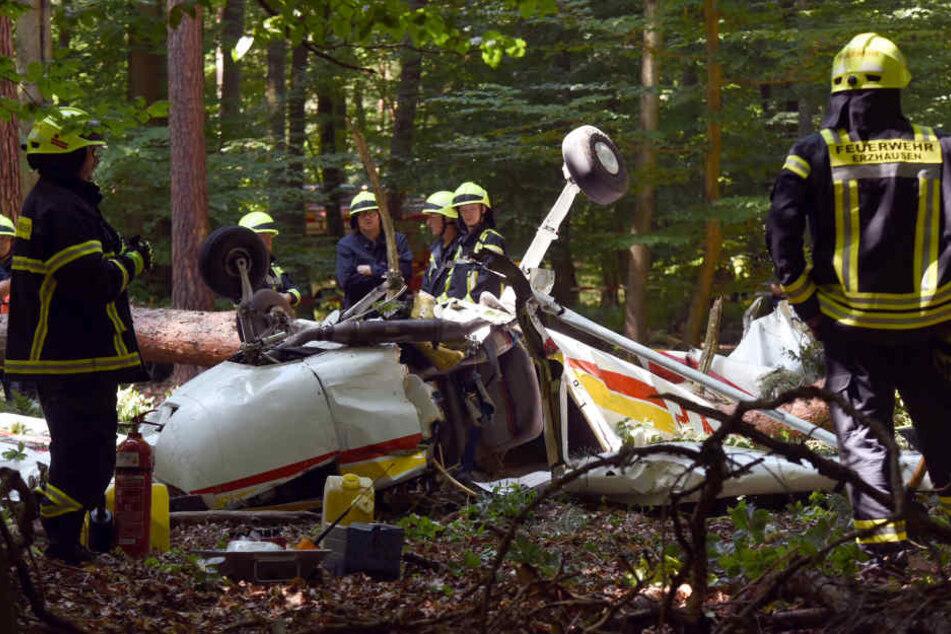 Die Pilotin überlebte schwer verletzt.