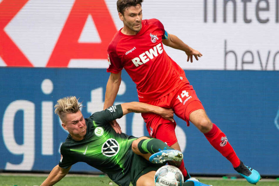 Im Hinspiel unterlag der 1. FC Köln dem VfL Wolfsburg mit 1:2.