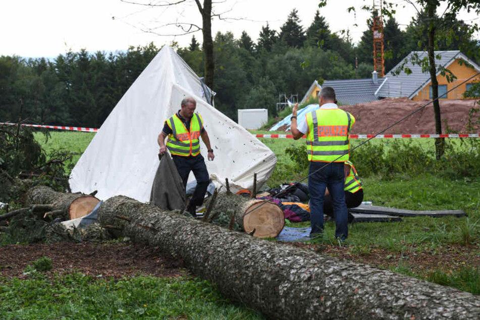 Ein halbes Jahr ist es her das ein 15-Jähriger in seinem Zelt von einem Baum erschlagen wurde.