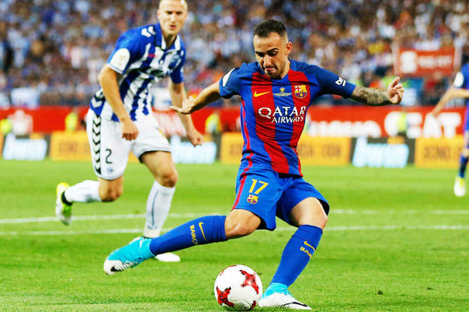 Kommt vom großen FC Barcelona zum BVB: Paco Alcacer.