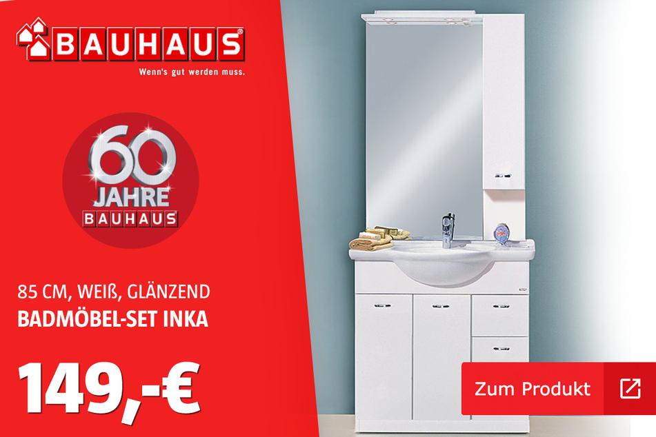 Badmöbel-Set 'Inka' für 149 Euro.
