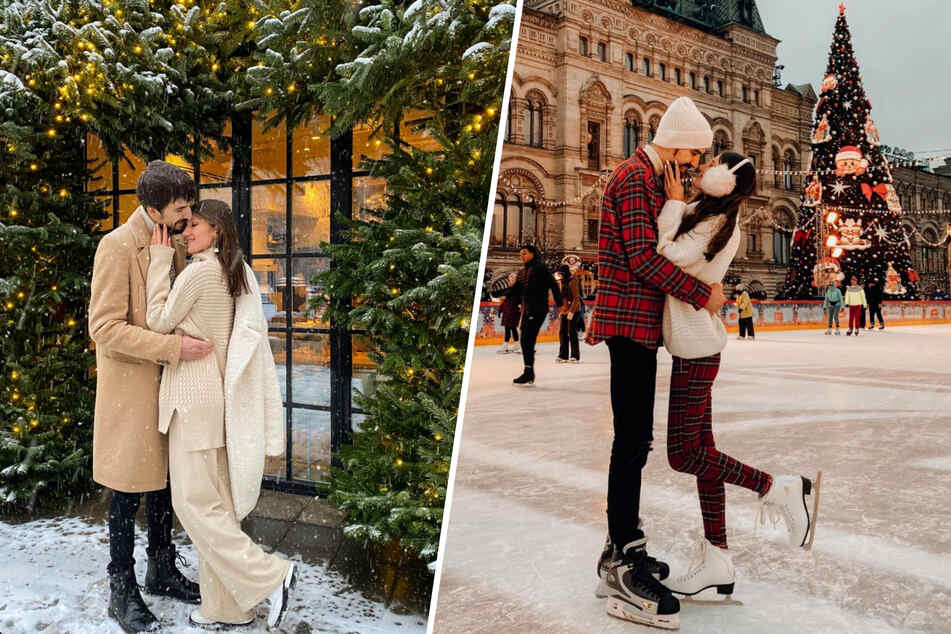 Auf Instagram gaben Kristina und Dmitry das perfekte Paar ab – doch wie sah es hinter den Kulissen aus?
