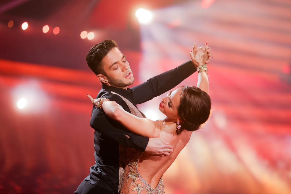 """Luca Hänni und Christina Luft tanzen in der RTL-Tanzshow """"Let's Dance"""" im Coloneum."""