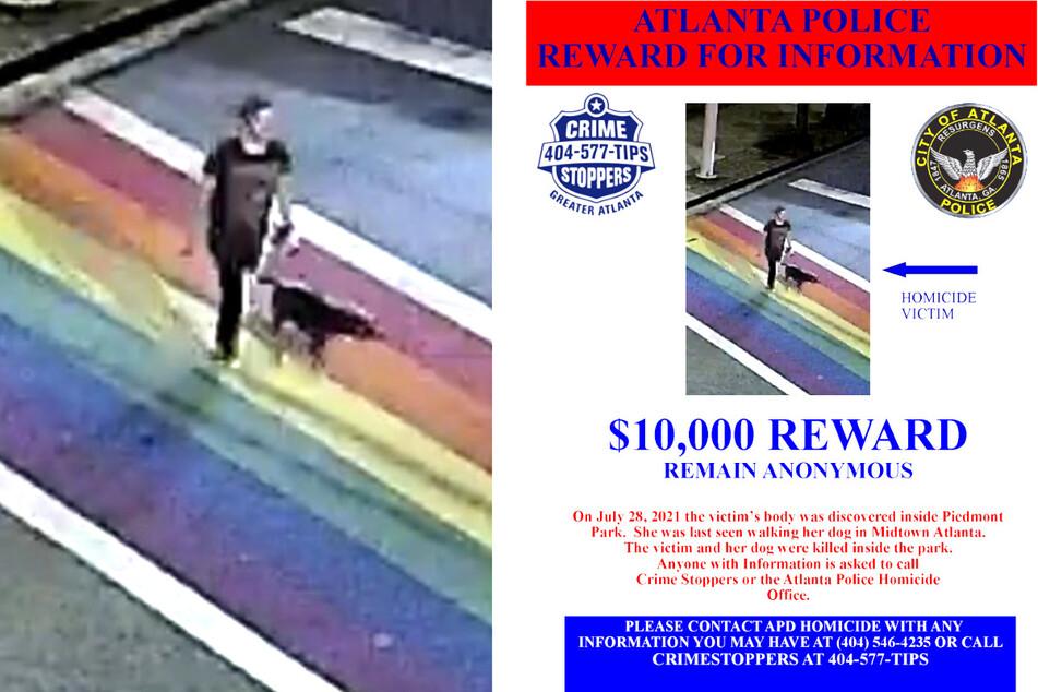 """Nach dem Mord an Katherine Janness (†40) und ihrem Hund """"Bowie"""" hat die Polizei ein Kopfgeld von umgerechnet 8400 Euro ausgesetzt."""