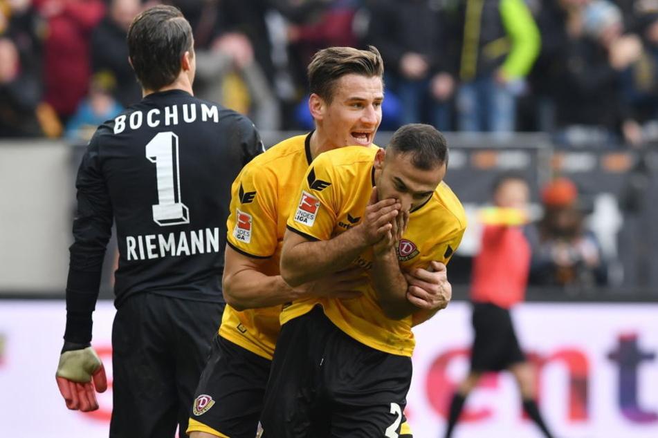 Ein Garant des Vorrunden-Erfolgs von Dynamo: Akaki Gogia.