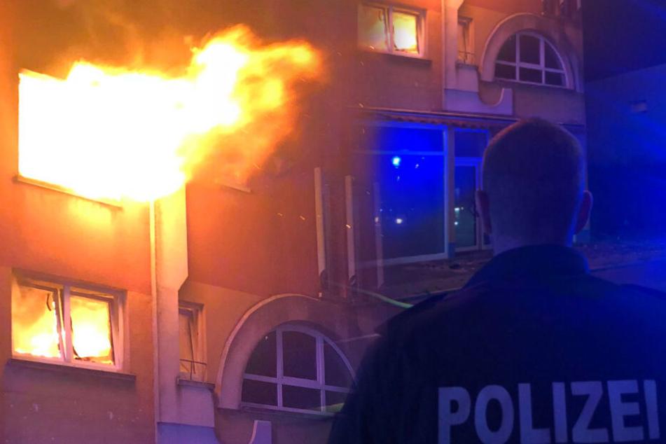 Feuer mitten in der Nacht ausgebrochen: Fünf Menschen obdachlos!