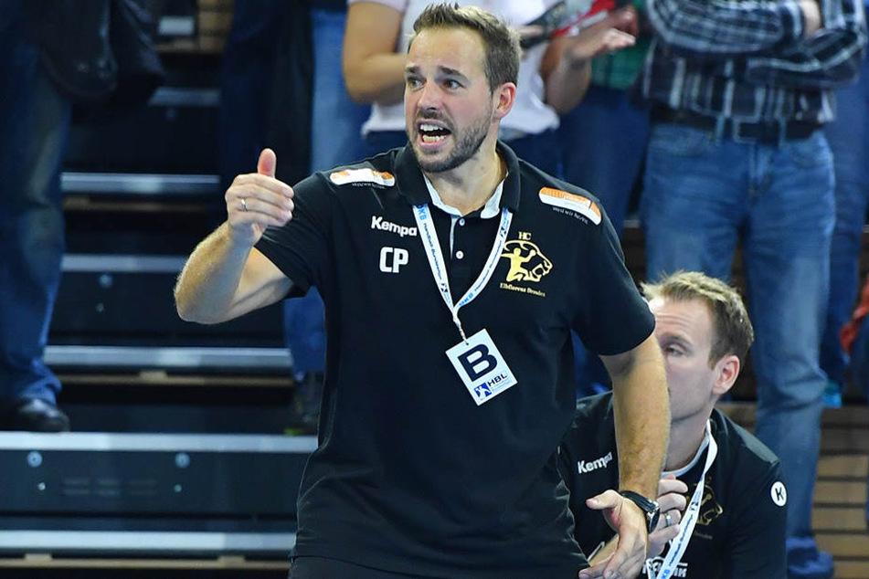 Kann Coach Christian Pöhler am Samstag mit dem HC Elbflorenz im Derby punkten?