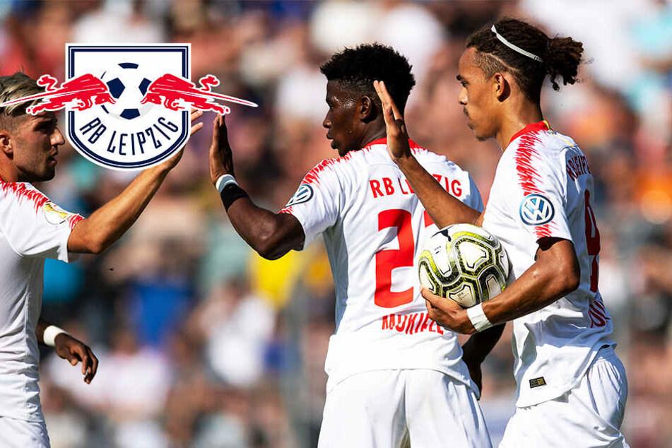 Das war knapp! RB Leipzig dreht gegen starke Viktoria das Spiel