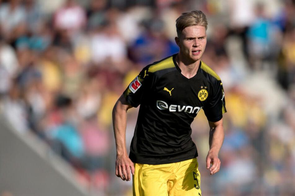 Union Berlin verleiht Lars Dietz (hier noch im Trikot von Borussia Dortmund) an Viktoria Köln.