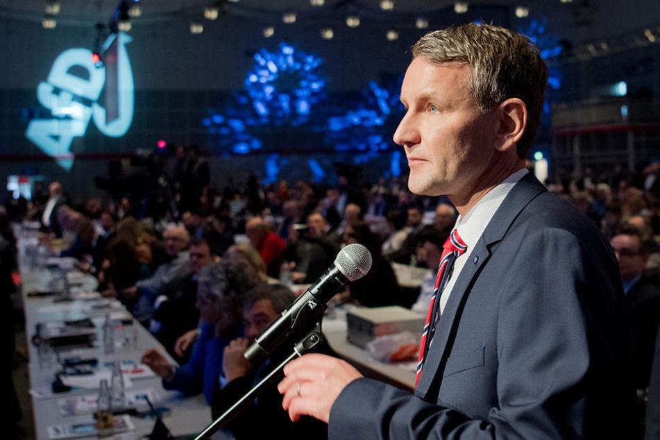 AfD-Rechtsaußen Björn Höcke (45), Partei-Chef in Thüringen.