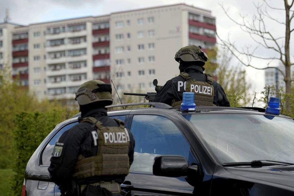 Auch die Eröffnung der IGA in Berlin wurde von schwer bewaffneten Polizisten bewacht.