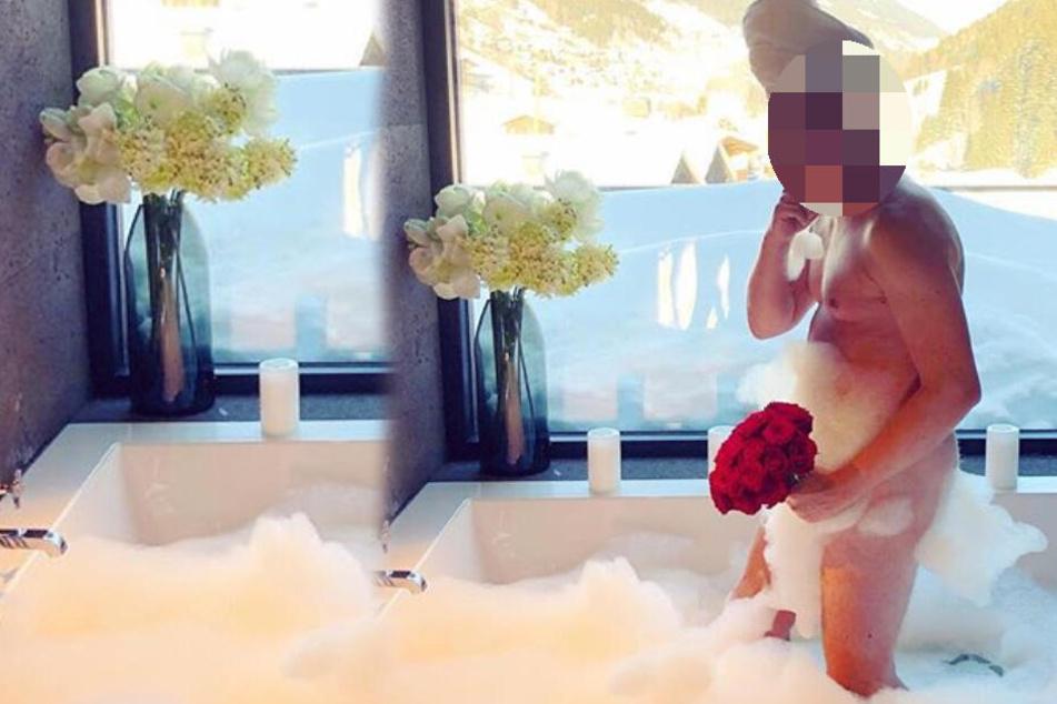 Geschmacklos oder witzig: Geht dieser Promi am Valentinstag zu weit?