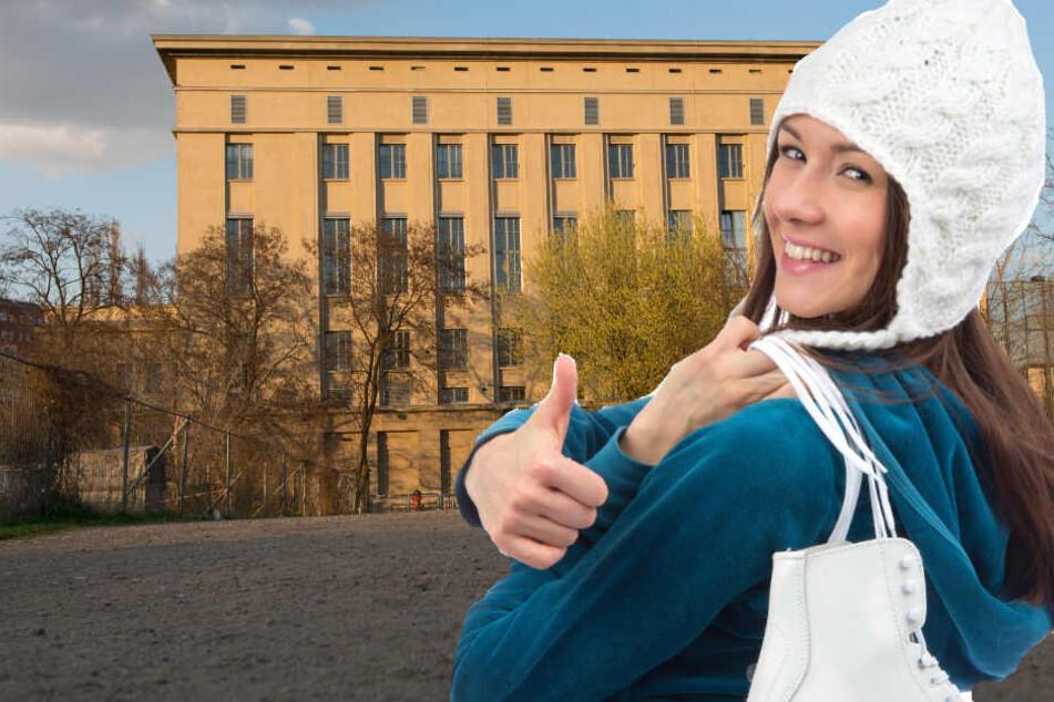 Jetzt kannst du im Berliner Club Berghain zu Elektromusik Schlittschuhlaufen