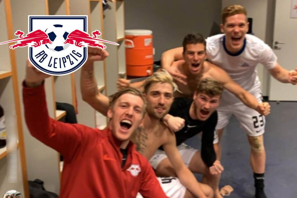 RB Leipzig erstmals im Pokalfinale: Bier, Party, Malle-Hits