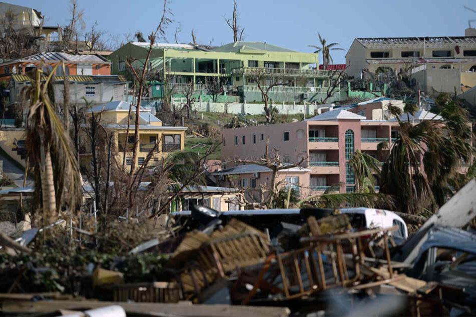 Am 6. September fegte Irma mit einer unvorstellbaren Gewalt über St. Martin hinweg und hinterließ ein Bild der Zerstörung.
