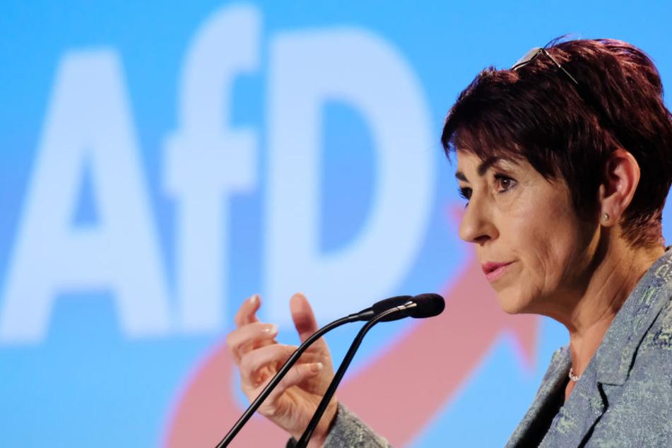 Christine Anderson ist Aktivisten des Pegida-Bündnisses.