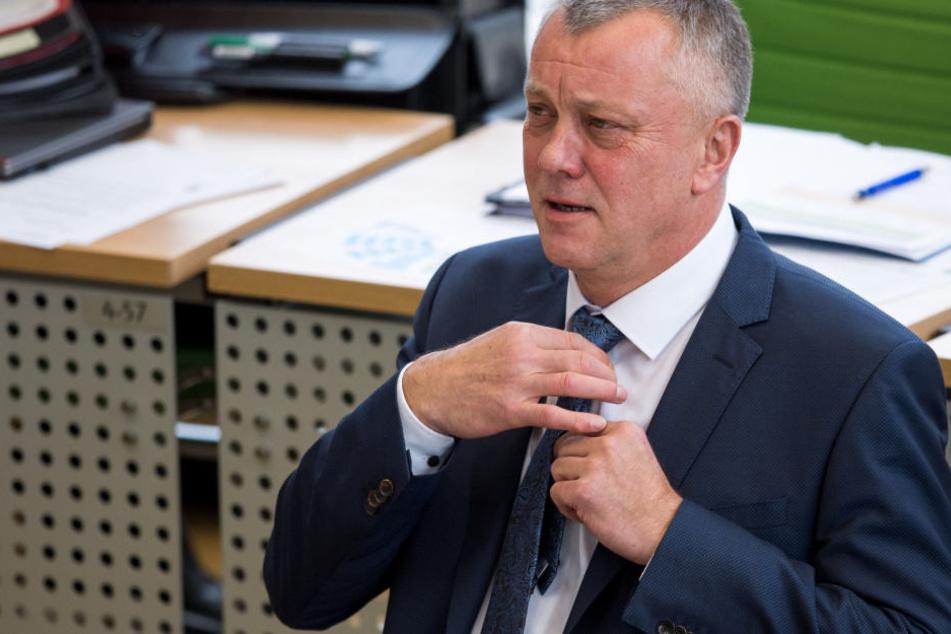 Kämpft für seine Lehrer: Frank Haubitz (59, parteilos).