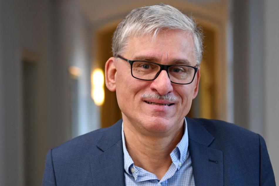 Holger Pröbstel, Vorsitzender des Deutschen Richterbund in Thüringen.