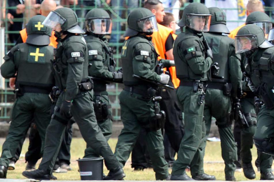 So viele Polizisten wie noch nie bei Thüringer Fußballspielen verletzt