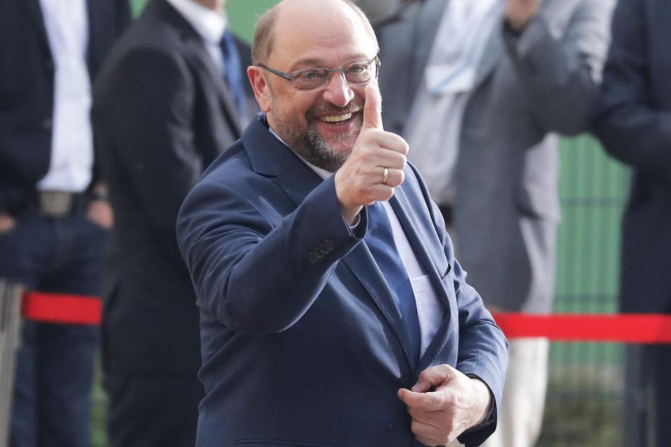 Martin Schulz fühlte sich siegessicher.