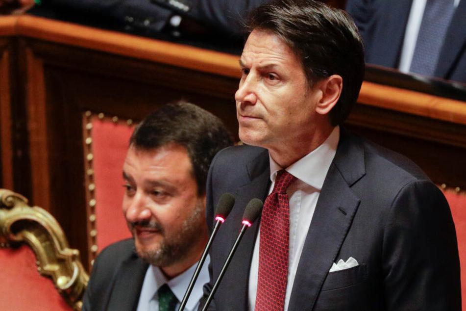 Conte verkündet Rücktritt: Italienische Regierung gescheitert