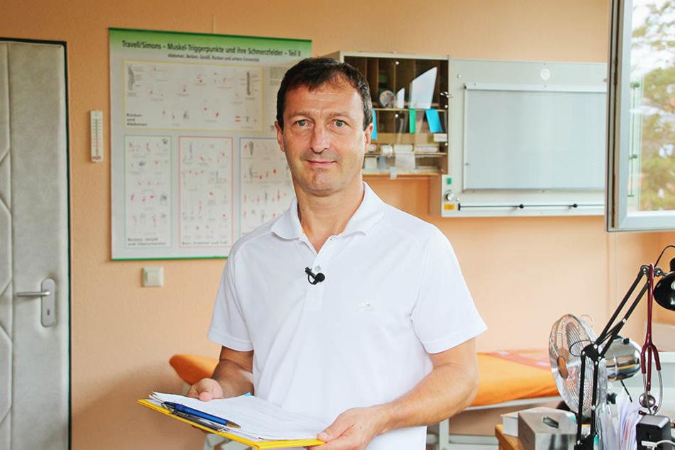 Sportmediziner Dr. Egbert Mehlhorn.