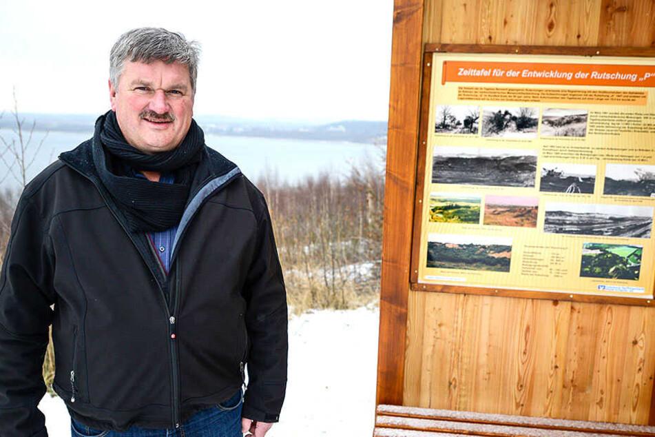 Markersdorfs Bürgermeister Thomas Knack (58, Freie Wähler) hätte gern mehr Frauen im Rat.