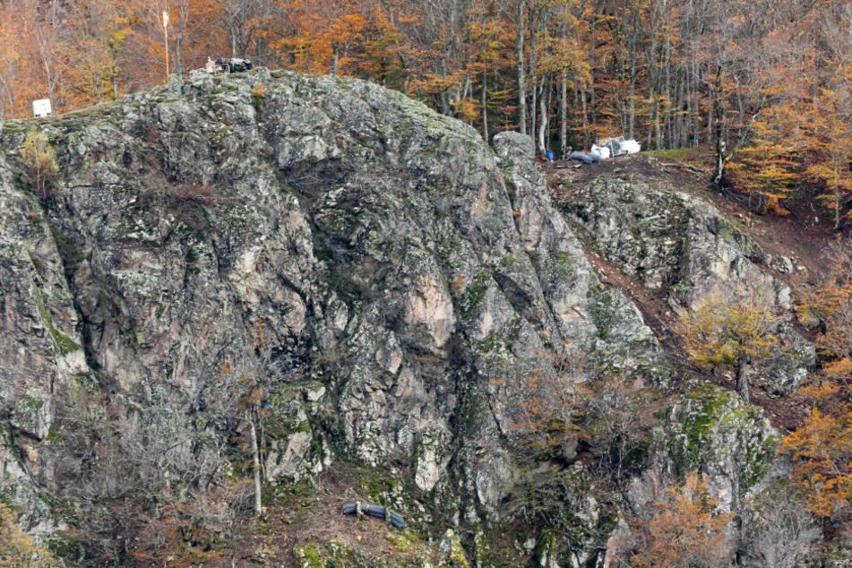 Wegen Felssicherungsarbeiten: Mehrere Häuser evakuiert